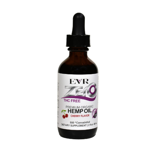 500mg Cherry Zero 60ml - Cherry