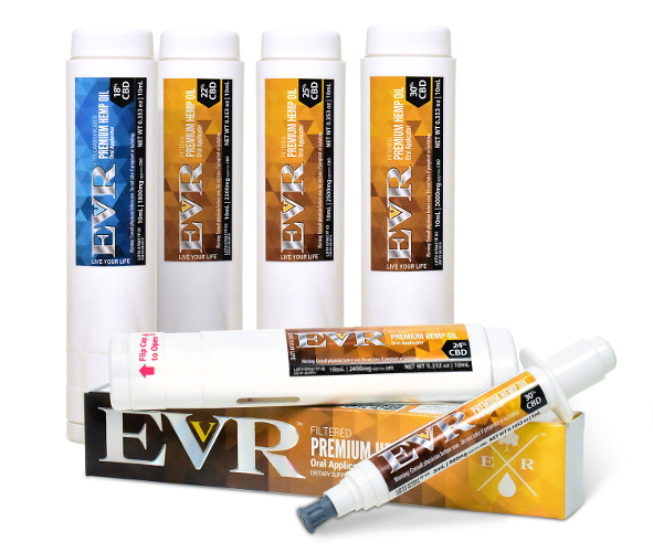 EVR Premium Hemp Oil Products
